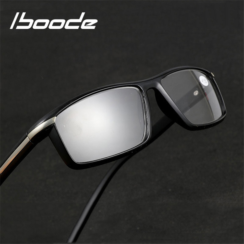 Iboode 2018 New Resin Reading Glasses Men Presbyopic Glasses Men Women +1.00 1.50 2.00 2.50 3.00 3.50 Diopter