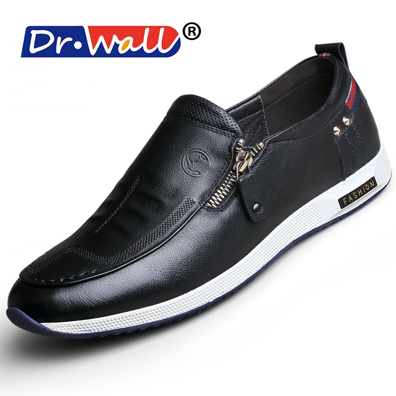 2017 Superstar Shoes New Arrival 100% Genuine Leather Men Cow Slip On Men's Flats Shoes Comfortable High Quality Casual 2443142 new arrival high genuine leather comfortable casual shoes men cow suede loafers shoes soft breathable men flats driving shoes