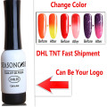 ANY CHANGE colors FREE  DHL TNT FAST SHIPPING UV LED Nail Gel Long Lasting UV Gel Nail Varnish wholesale can do private label