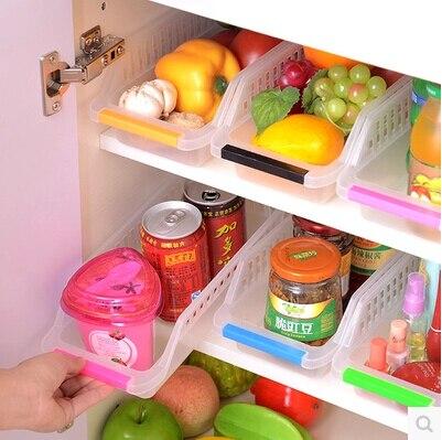 Shporta e re e frigoriferit Magazina e arkës Kutia e ruajtjes së - Magazinimi dhe organizimi në shtëpi - Foto 3