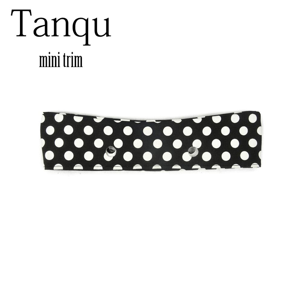 TANQU Fabric Mini Floral Fabric Trim Cotton Fabric Decoration For Mini Obag Handbag O Bag Mini Body For Summer Autumn