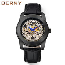 Berny Watch Men Mechanical and Automatic Men's Watches Luxury top Brand relogio masculino kol saati reloj hombre montre homme mens watches top brand luxury men watch sport automatic bayan kol saati erkek saat relojes reloj hombre montre homme horloge