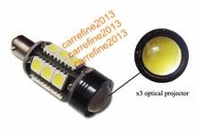 2 X  Error Free LED Bulbs  White BAY9S H21W 64136 5050-SMD  led  Backup Lights for VW CC
