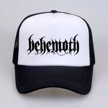 Behemoth Men Women hat 2018 Death Rock Printed Baseball Caps Summer Hip Hop Casual cool mesh trucker cap hats