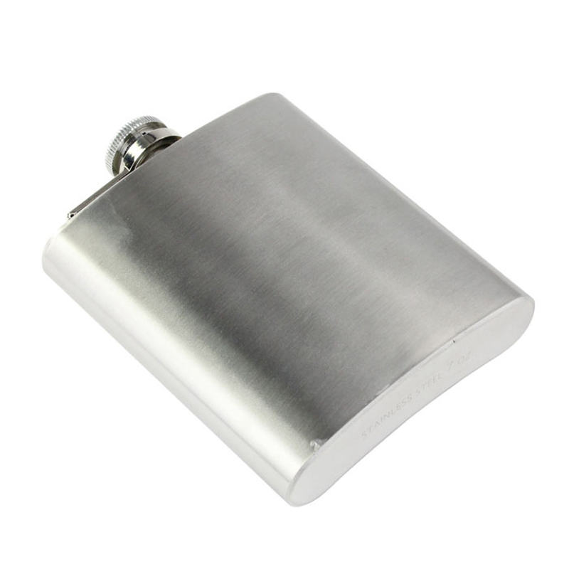 Stainless Steel Hip Flask - 4 oz to 10 oz 2
