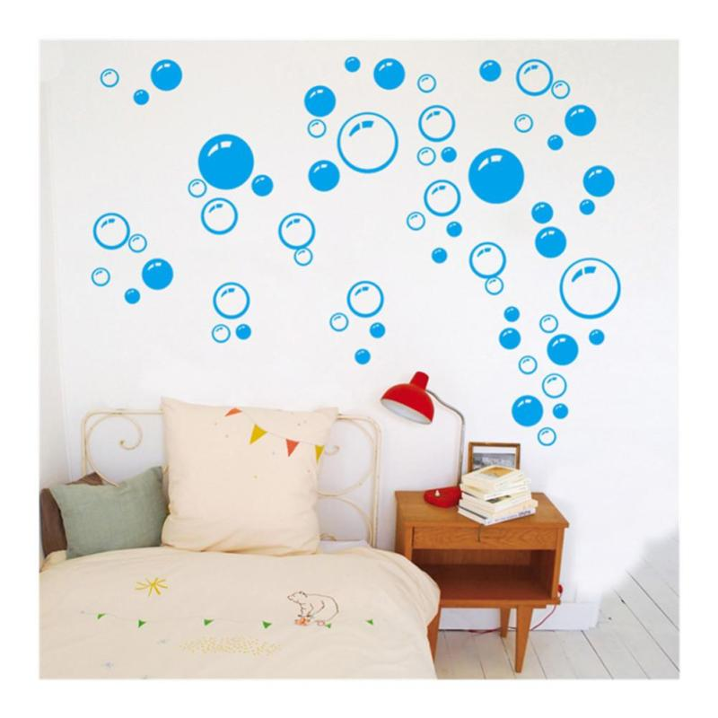 Creative Bubbles Wall Sticker Bathroom Window Tile Bedrooms Art Decoration  Decal Waterproof Removable Kids Room Home Part 86