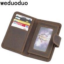 Brand Men Wallets Cow Leather Money Holder Fashion Men Purses Wallet Genuine Leather Luxury Wallet Coin Wallet Card Holder недорго, оригинальная цена