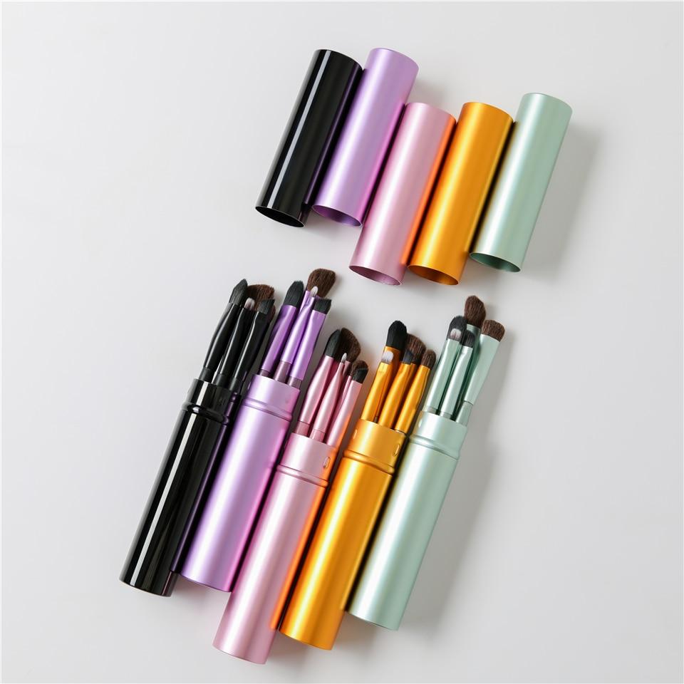 5pcs Portable Mini Eye Makeup Brushes Set 4