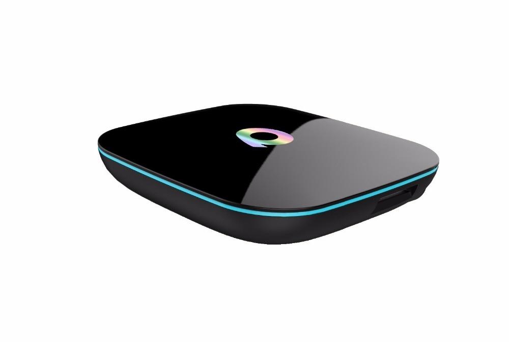 ФОТО Q-Box 4K Android 5.1 Smart TV BOX KODI 16.0 Pre-installed Amlogic S905 Quad Core 2GB 16GB Dual Wifi Bluetooth 4.0 Set Top Box