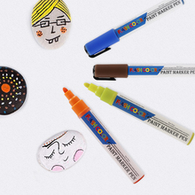 Oil Based Paint pens 19 colors quick Dry Water Resistant permanent marker  for rock painting