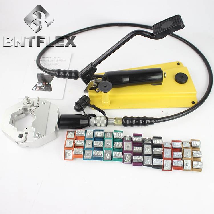 FS-71500 palmare Auto aria condizionata tubo premere manuale idraulico tubo crimper macchina tubo flessibile di aggraffatura strumento pinze di piegatura strumento