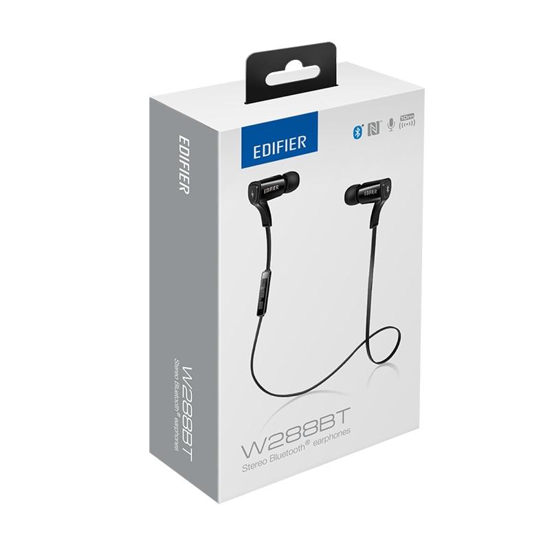 EDIFIER W288BT Bluetooth Earphones CVC Noise Cancelling Wireless Earpiece Bluetooth V4.0 Combined with NFC APT Sports Earphones 6