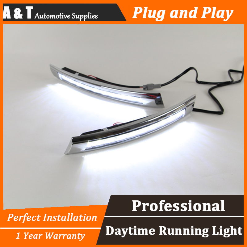 car styling For VW Santana LED DRL For Santana led fog lamps daytime running light High brightness guide LED DRL for lexus rx gyl1 ggl15 agl10 450h awd 350 awd 2008 2013 car styling led fog lights high brightness fog lamps 1set