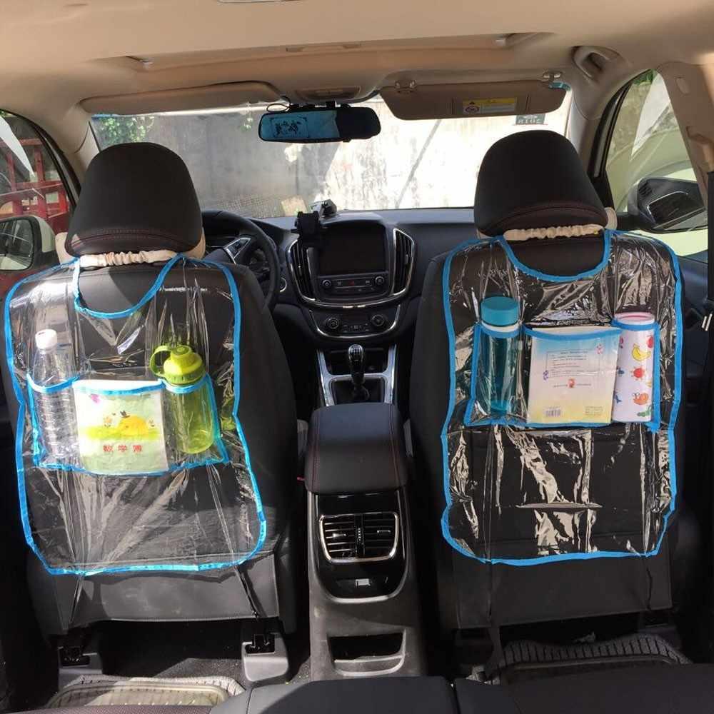 دروبشيب wupp أعلى جودة السيارات التصميم السيارات السيارات مقعد الخلفي حامي غطاء للأطفال ركلة حصيرة حقيبة التخزين جديد وصول