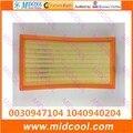 Бесплатная доставка Высокое качество воздушный фильтр салонный фильтр 0030947104 1040940204