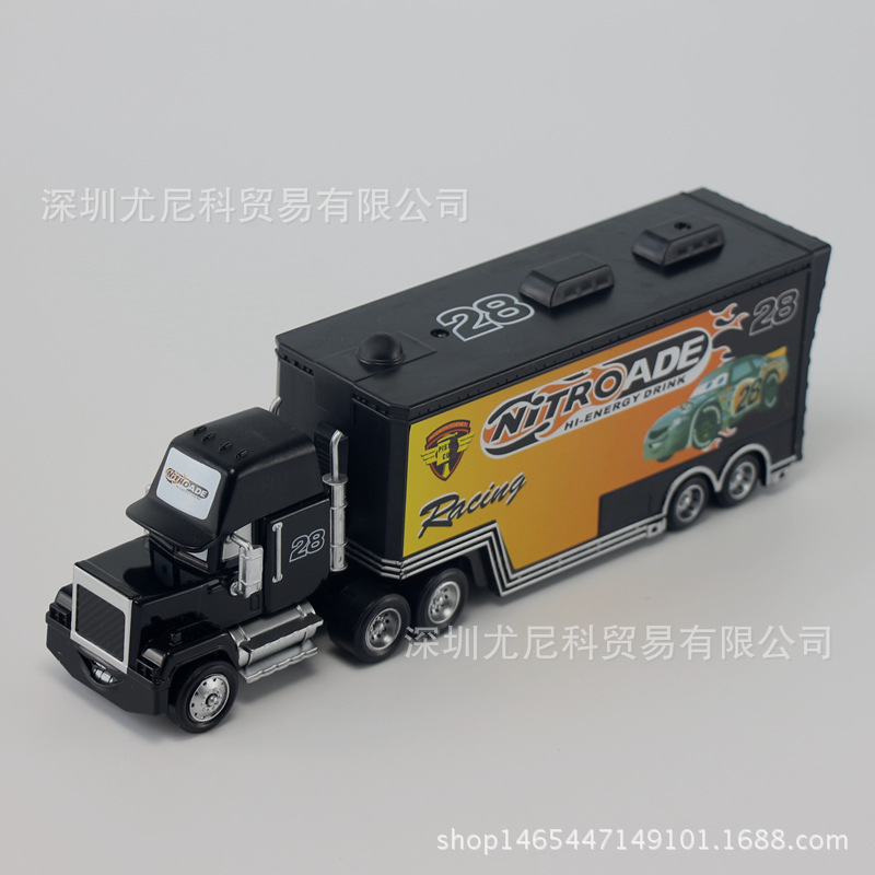 Disney Toy Number Car No. 28 Metal 1:55 Scale Diecast Racing Car Alloy Truck Car Model Toys for Childrens Christmas Gift