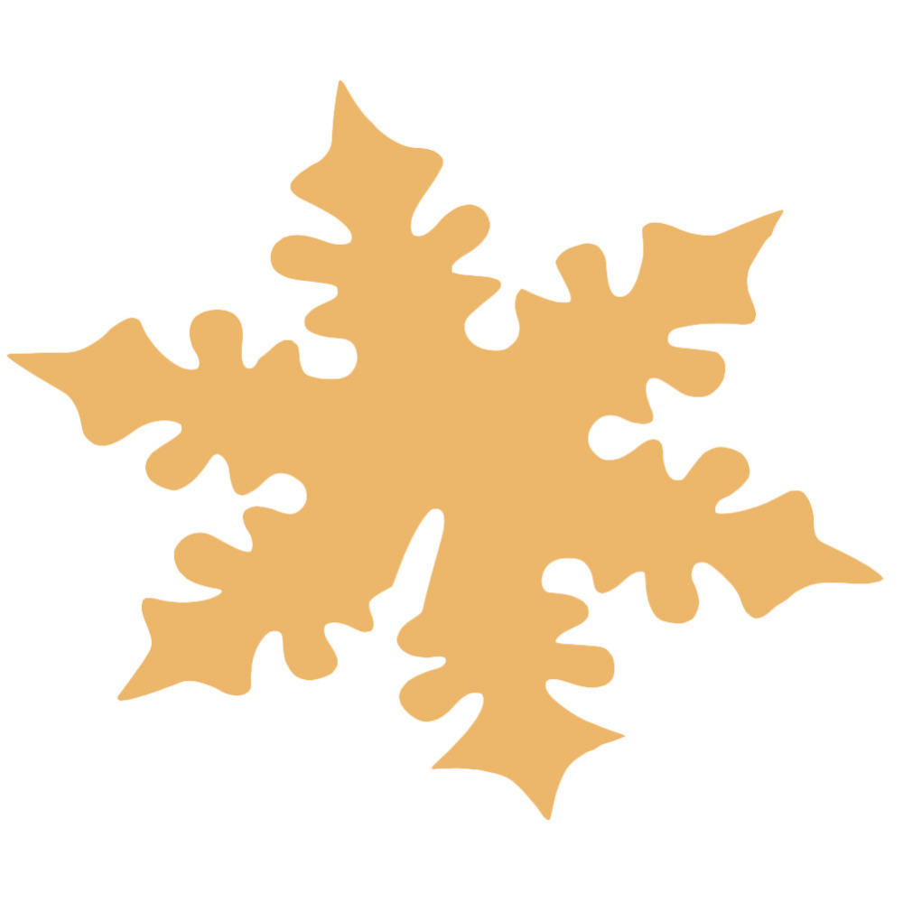 50pcs Snowflake Cards For Glass Laser Cut Snow Flower Shape Christmas Winter Wedding Table Decoration