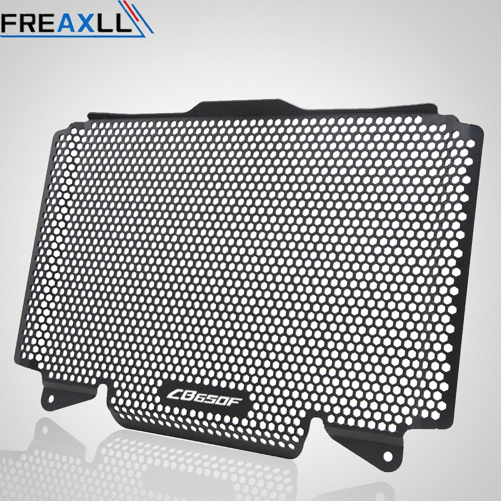 Motorcycle Accessories Stainless steel Radiator Grille Guard Cover tank For Honda CB650F cb650f 2014 2015 2016