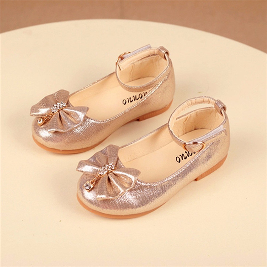 Pearl Useful Children Girl Fashion Princess Bowknot Dance Toddler Sandals Upper Quality Shoes New Arrival Dropshipping