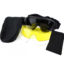 Tactical Army Glasses Outdoor Hunting Airsoft UV 400 Protection Eyewear Military Training Combat
