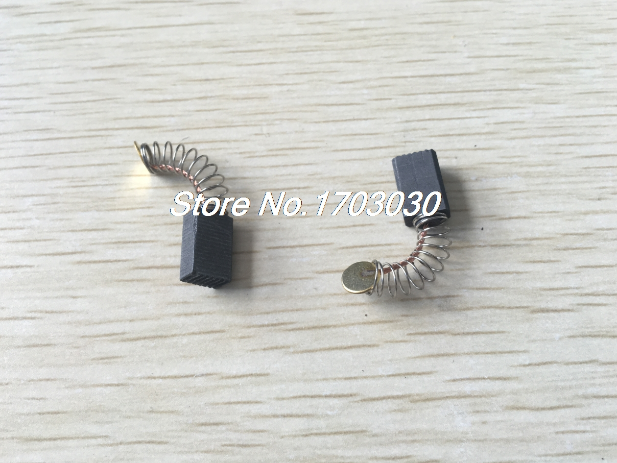 20pcs Repair Part 12 X 8 X 5mm Carbon Brush For Generic