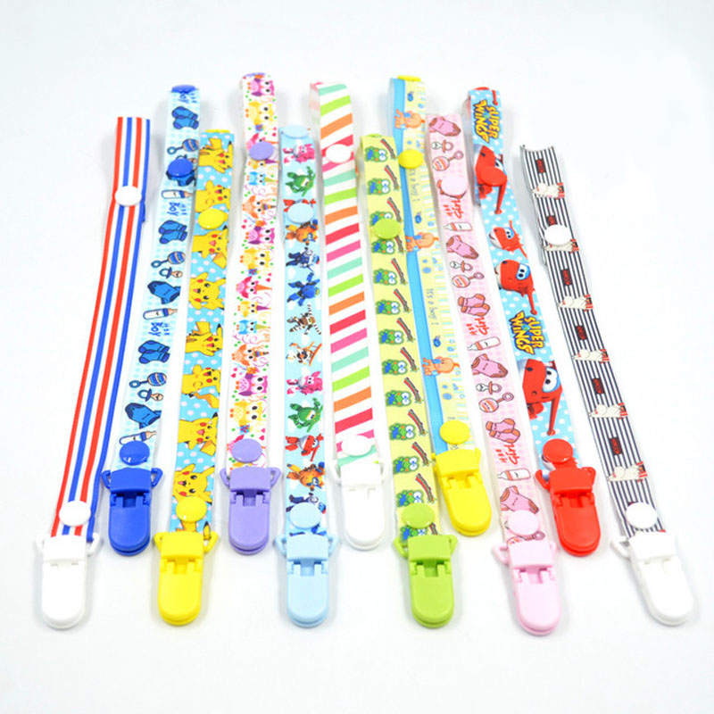 Baby Chain Pacifier Clip Pacifier Chain Clip For Babies Teat Holders Baby Pacifiers Clips For Dummy Pacifier Clip B0636
