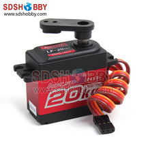 Power HD Digital Servo LF-20MG 20KG/ 60g for RC Plane/ Car/ Robot/ FPV Gimbal Compatible with Futaba