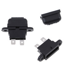 5Pcs/set Car Auto In-Line Standard Blade Fuse Holder Wire Fuses Holders(China)