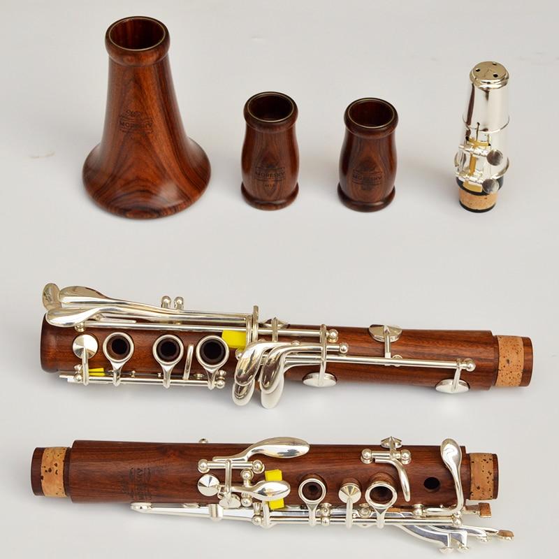 Moresky madeira vermelha clarinete profissional caindo tune