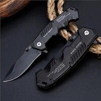 Тактический высокое твердосплавный нож выживания диких животных многофункциональная складально-мерильная нож самозащиты открытый складн...