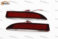 OKEEN Top Sale LED DRL Daytime Parking Signal Light Lamp Car Styling 12V Red Two Pcs