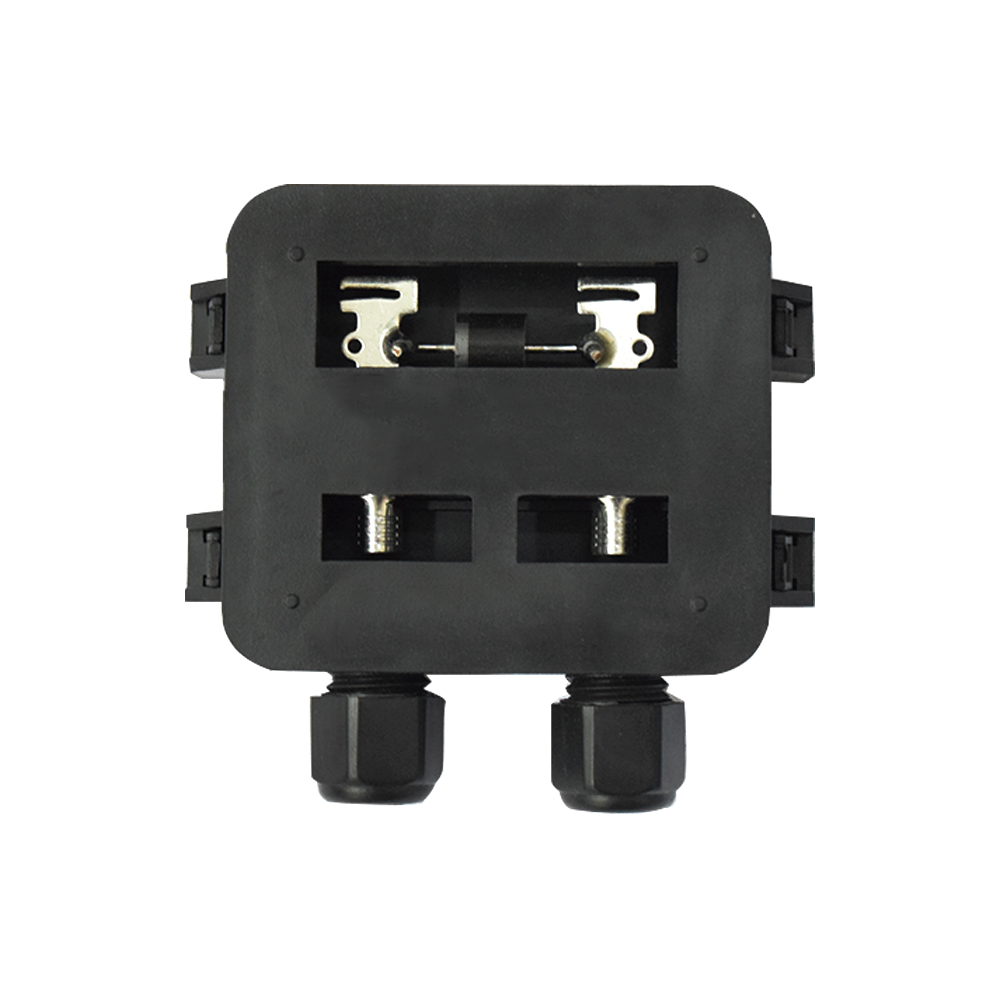 1 Pieces Waterproof Ip65 Solar Junction Connecting Box For Panel Wiring 50w 100w In Accessories From Consumer Electronics On