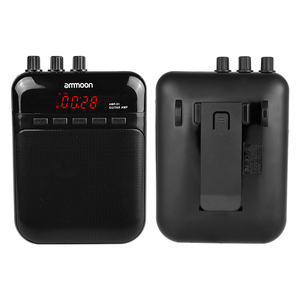 Image 2 - ammoon AMP  01 5W Guitar Amp Recorder Speaker TF Card Slot Compact Portable Multifunction