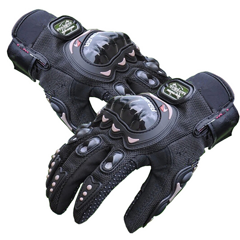 цена на Wholesale Motorcycle pro-biker Glove Cycling Bicycle Racing Gloves Motorcycle Full Finger Non-Slip gloves