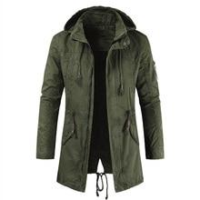 Новое поступление, мужская куртка, Весенняя Мужская Повседневная тонкая ветровка с капюшоном, осенняя винтажная хлопковая верхняя одежда, мужская одежда, jaqueta 4XL