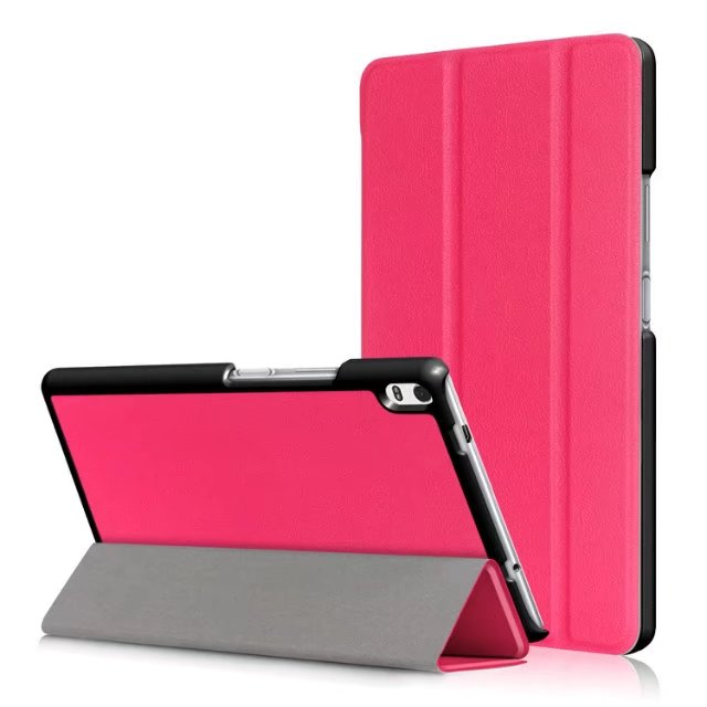 Case For <font><b>Lenovo</b></font> Tab 4 8 Plus TB-8704F TB-8704N <font><b>8704</b></font> Tablet Case Stand Bracket Flip Leather PU Cover image
