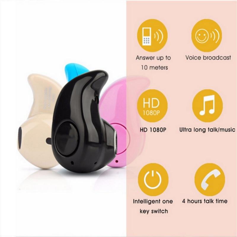 S530 super mini & micro bluetooth earphone in-ear Mini Wireless Bluetooth 4.0 Stereo In-Ear Headset Earphone