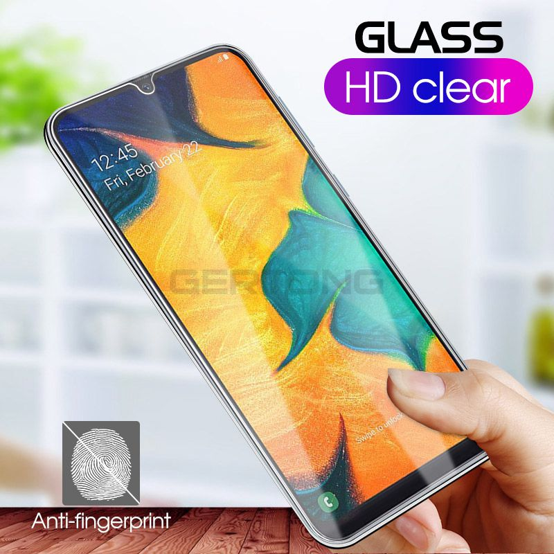 Tempered Glass For Samsung Galaxy A10 A30 A40 A50 A60 A70 A80 A90 Screen Protector S10e M10 M20 M30 9H Safety Protective Film