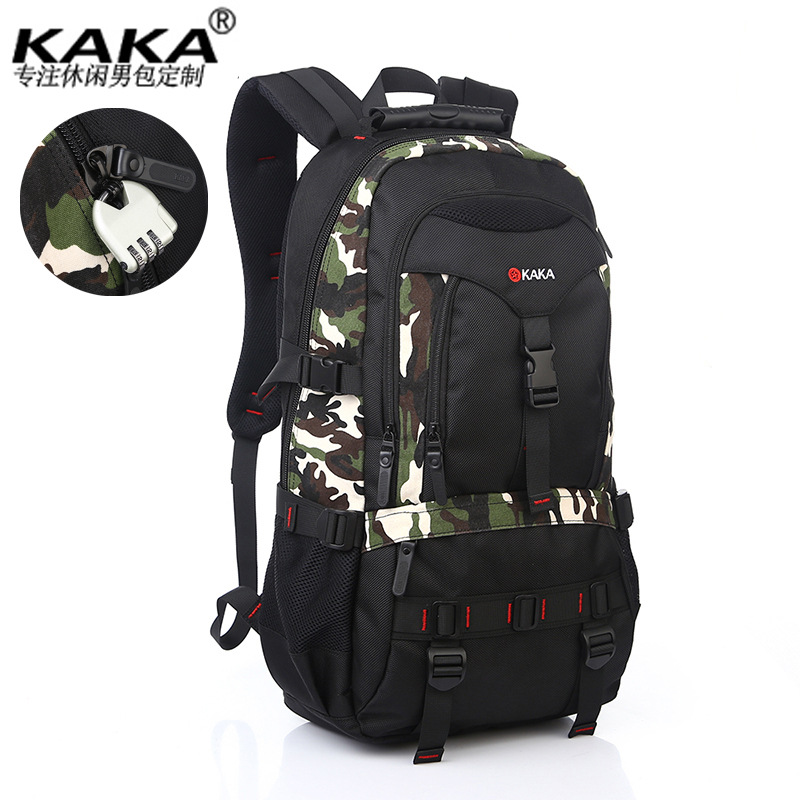 Hot Sale Outdoor Climbing Backpacks Waterproof band lock Anti theft laptop font b bag b font