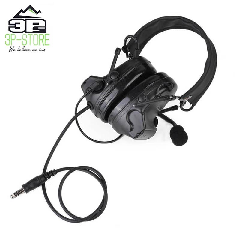 ruido fones com couro preto headhand para caca z041 bk 05