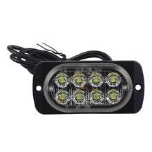 8-светодиодной вспышкой для восстановления Предупреждение Strobe Авто срочности аварийного сигнала светильник тумана мигающий