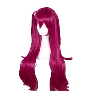 Image 2 - L email парик, игра Fate Grand Order Elizabeth Bathory Косплей парики 65 см длинные термостойкие синтетические волосы парик для косплея