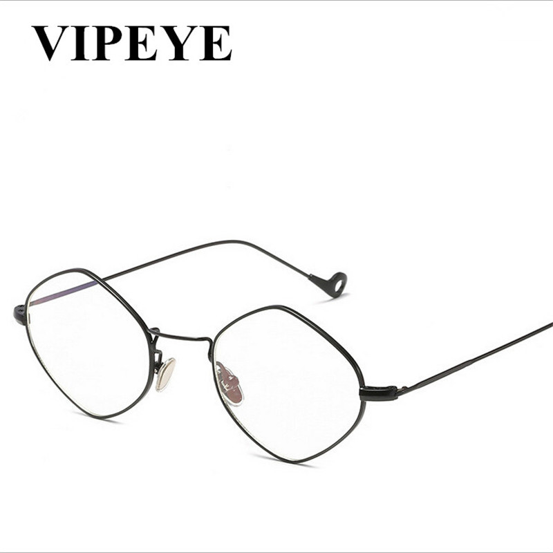 New European And American Fashion Vintage TR90 Frame Multilateral Women Glasses Comfortable Glass For Men And Women