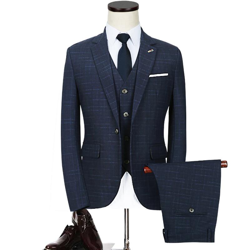 Fit Pantalon Costumes Gilet Loisirs Taille Noir Terno blazer D'affaires Hommes bleu Pus Casaco Masculino Classique 5xl Costume Jaquetas rouge Slim Cd30 Formelle dxF5qXaw