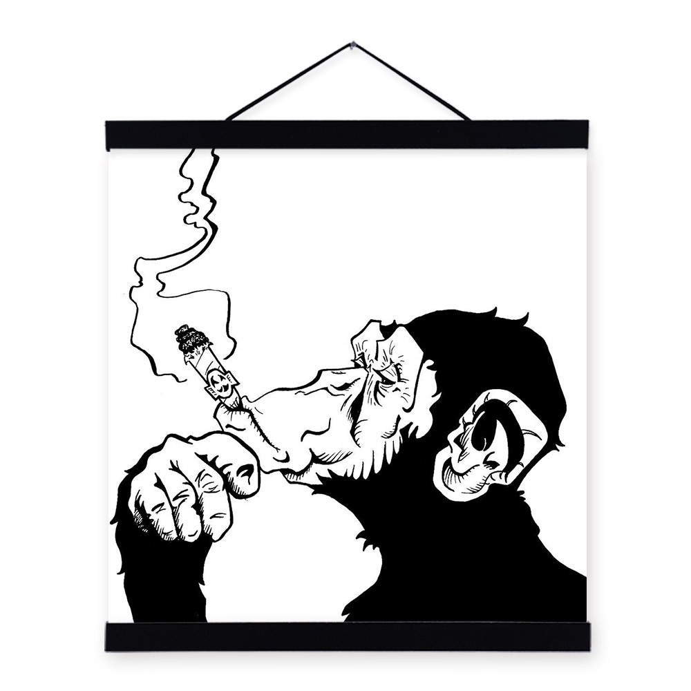 Grafiti Gambar Kartun Keren Hitam Putih 3d