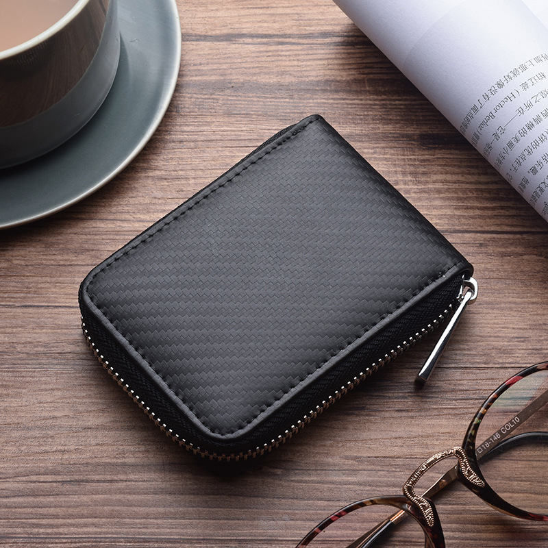 Zipper Genuine Leather Mini Small Money Men Women Change Coin Purse Wallet Holder Female Male For Pouch Bag Case