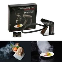 Fumar arma handheld fumante de alimentos ferramenta molecular francês molécula cocktail ferramentas especiais dispositivo fumaça conjunto barra