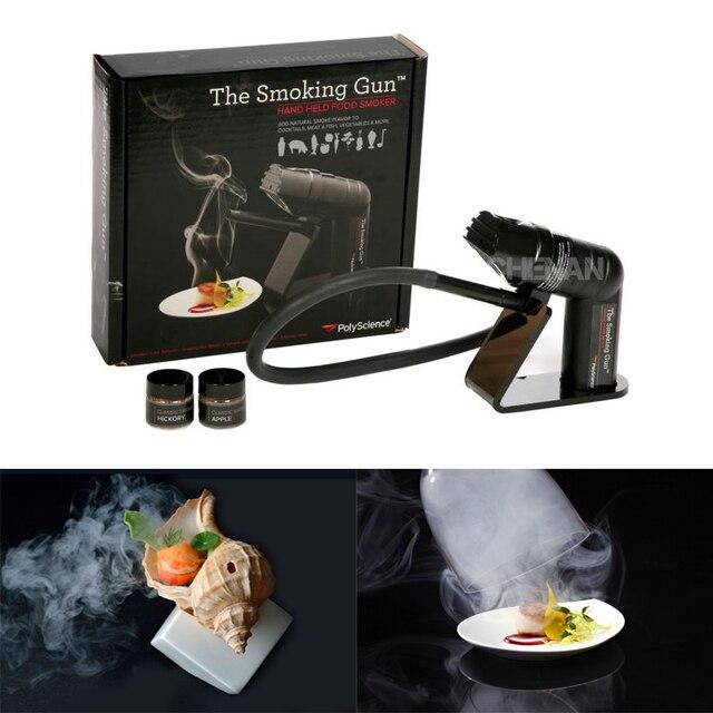 Smoking Gun Handheld Food Smoker French Molecular  Tool Molecule Cocktail Special Tools Smoke   Device Bar Set