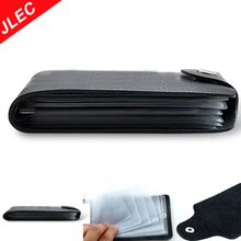Black Car Driver License Bag PU Leather Credit Cards Holder Case for Driving Documents Card Storage Accessories
