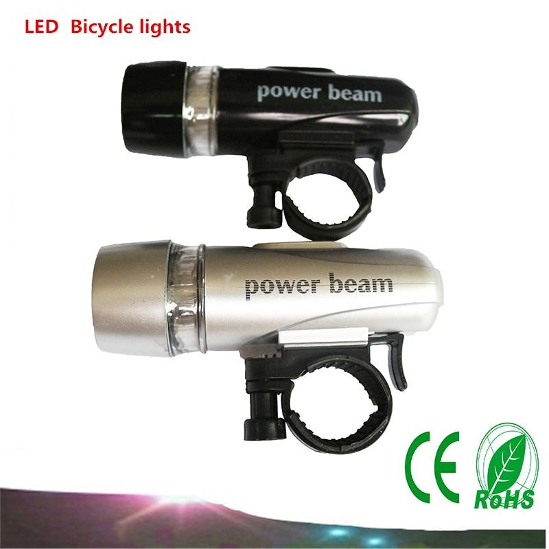 1PCS 5LEDs mountain bike lighting headlights night riding equipment LED flashlight